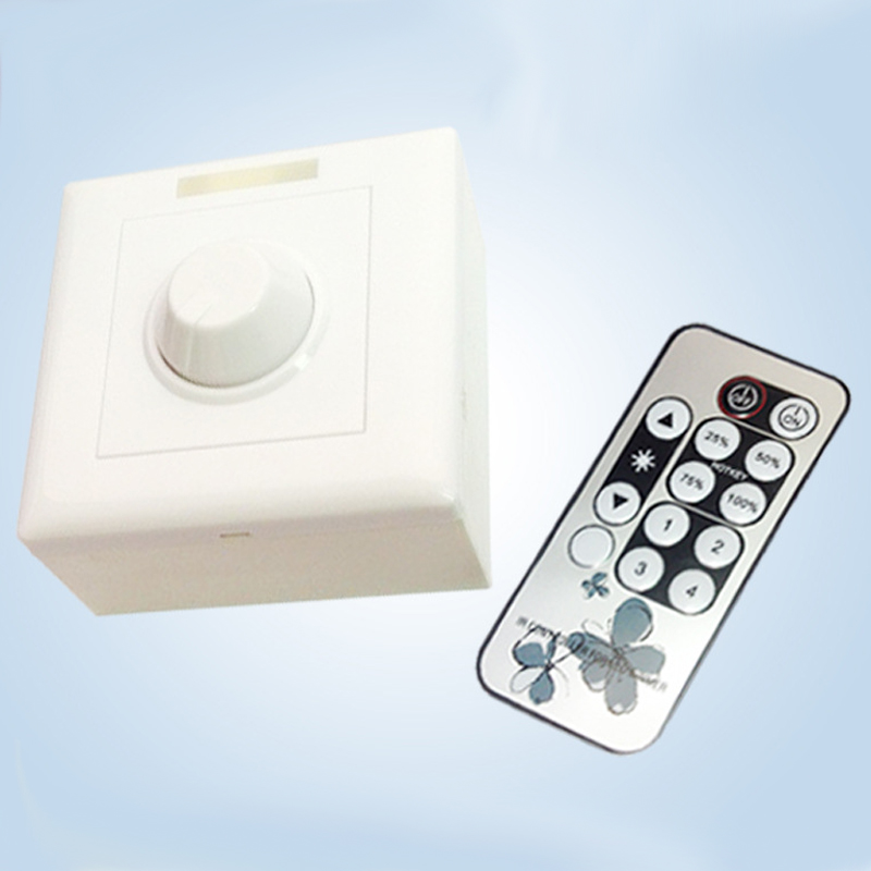 ФОТО LED Dimmer Switch 800W Isolated For Dimmable Light Bulb Lamp Dimmer Switch Controller