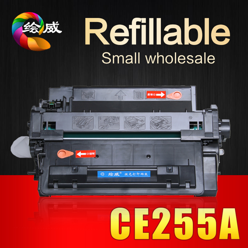 CE255A 255A 255 55A compatible toner cartridge for HP P3010 3010 P3015 3015 P3016 3016 for canon LBP6750DN 6750 printer