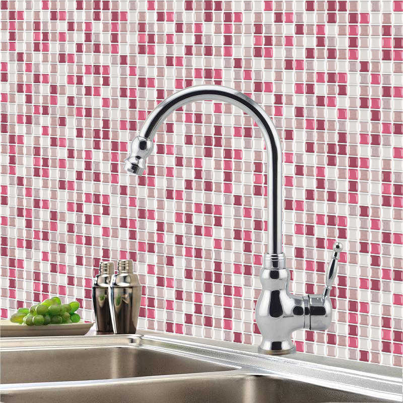 Mosaic Tile Stickers For Kitchen