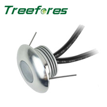 1W IP67 DC 12V Mini LED Spot Light 30mm Outdoor Waterproof Spotlight for Wall Floor and Stair Lighting Lamp CE RoHS