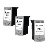 PG 40 CL 41 Ink Cartridges Printer Black Color Cartridge Compatible For Canon PIXMA IP1880 MP198 MX308 ip1180 MP170 MP180