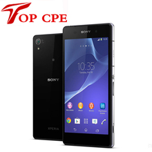 "Sony Xperia Z2 Original Unlocked GSM 3G&4G Android Quad-Core 2GB RAM D6503 5.2"" 20.7MP WIFI GPS 16GB Refurbished mobile phone"