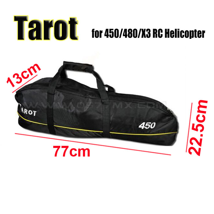 Tarot Duty Heli CARRY BAG BLACK for T REX 450 480 RC Helicopter TL3002