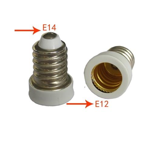 e14 to e12 lamp holder converter for led light bulb