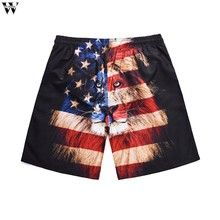 Men Casual Shorts Summer Quick Dry Comfortable Beachwear Homme Couple Casual Board Short Mar28(China)