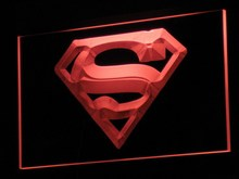 LED PRO Light Superman Sign