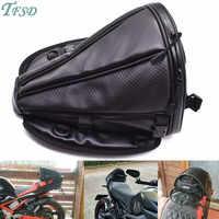 Nouveau fibre de carbone couleur moto queue sac moto siège sac à dos sac de selle personnalisé voyage sac à main pour BMW K1200R SPORT R1200S
