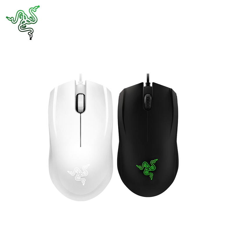 Razer Abyssus Gaming Mice 3500dpi for Windows 10/8/7 Game Mouse USB Wired Game Mice Support Official Test for Laptop /Desktop logitech g pro gamer gaming mouse 12000dpi rgb wired mouse official genuine usb gaming mice for windows 10 8 7