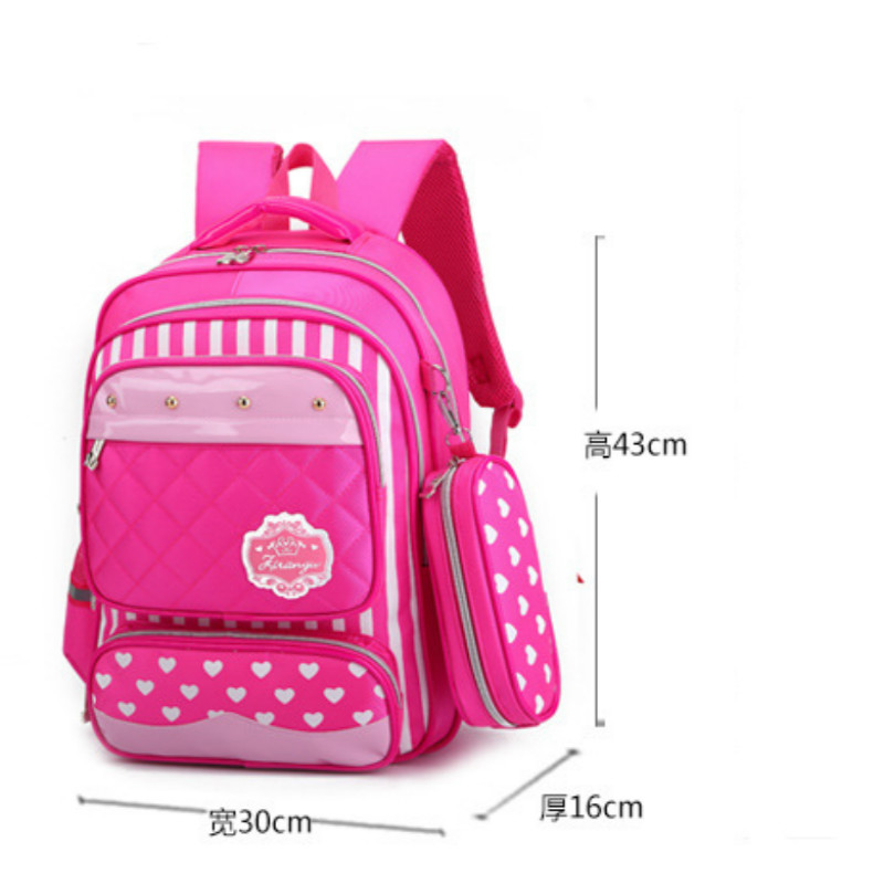 Kids Orthopedic Water Repellent Schoolbags for Girls Backpack Primary Escolar Satchel Mochila Children Bolsa Infantil Sac A Doc in School Bags from Luggage Bags