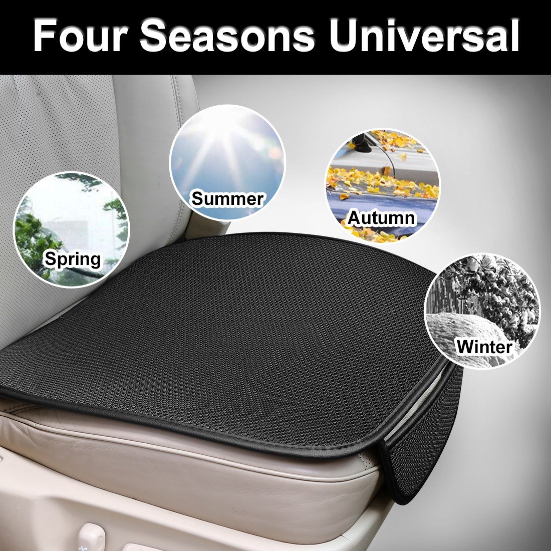 Protector-Mat Four-Seasons Cushion Car-Seat-Cover Auto-Accessories Breathable Universal-Size