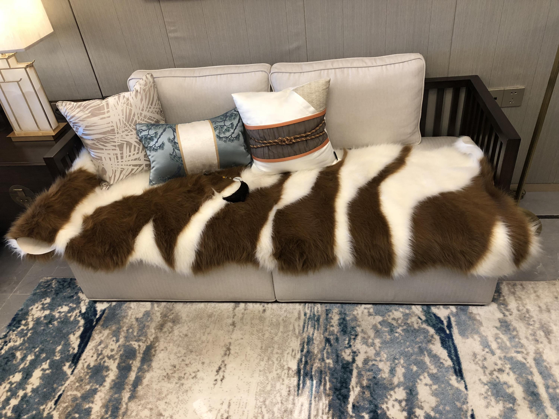 Peau d'animal vache motif zèbre tapis zone tapis salon tapis chambre tapis blanc noir marron pour enfants chaise couverture tapis canapé tapis