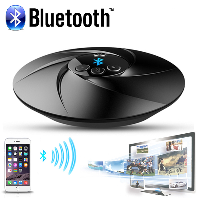 Universal 3.5mm HIFI Audio Bluetooth Inalámbrico Receptor Transmisor Radio FM TF de Música Estéreo A2DP Dongle del Adaptador para TV Mp3 PC
