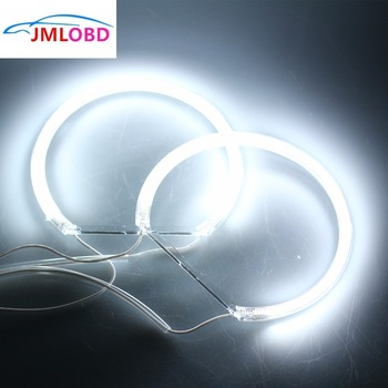 4PCS CCFL Car Angel Eyes Light (131*2+146*2) Headlight Tube White Halo Cotton Light for BMW E36 3 E38 7 E39 5 E46 image