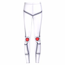 NEW Arrival 3683 Sexy Girl Women star wars Mecha robot droid 3D Prints Workout Elastic Fitness Leggings Pants