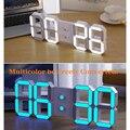 Los Precios Más Bajos de Toda la Red DIY Remoto Grande 3D LED Reloj de Pared Digital Diseño Moderno Decoración Gran Reloj de Cuenta Regresiva de Tiempo