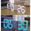 The Lowest Prices of Entire Network DIY Large Remote 3D LED Digital Wall Clock Modern Design Home Decor Big Countdown Time Watch