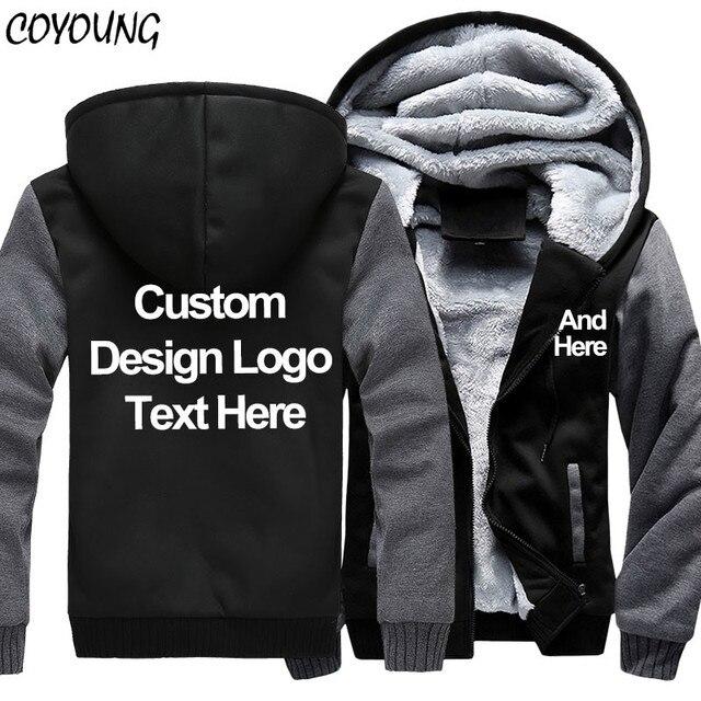 Us 32 92 11 Off Us Plus Size 5xl Men Hoodies Sweatshirts Personalized Customized Logo Printed Design Diy Men S Custom Made Jackets Drop Shipping In