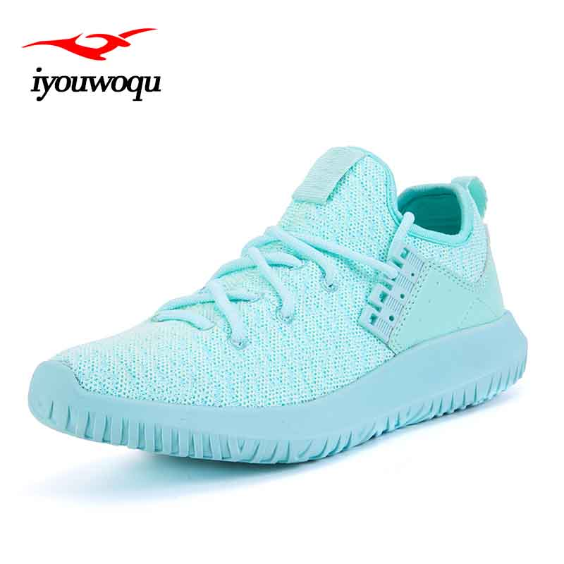 High quality Sneakers women <font><b>shoes</b></font> 2017 Summer New listing Outdoor sports running <font><b>shoes</b></font> Knitted zapatillas hombre deportiva