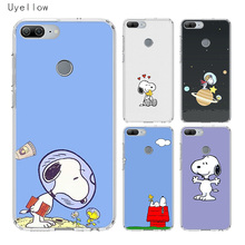 Uyellow Cartoon Anime Cute Snoopys Phone Case For Huawei Honor 8A 8X 8C 8S 9 10 20 lite Pro 20i V20 Cover Soft Coque