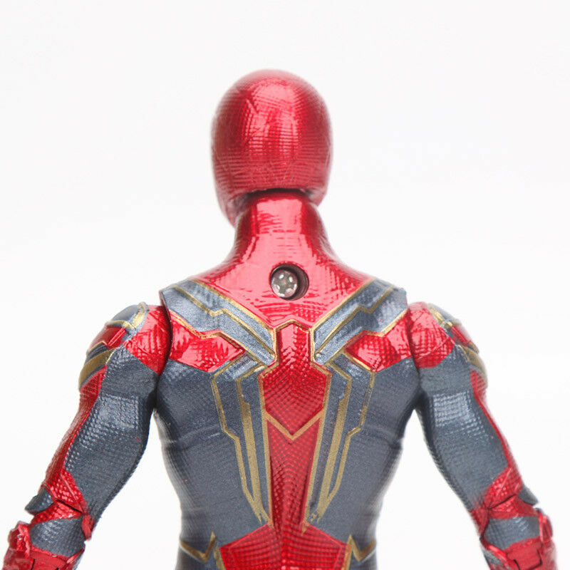 15cm Spider Man Action Figure Toy Marvel Avengers Infinity War Iron Spiderman Model in Mascot from Novelty Special Use