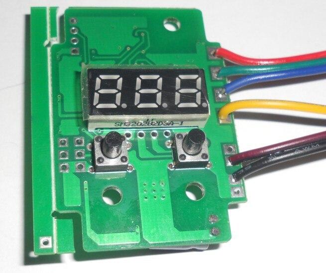 Addressable 3 Channel DMX Constant Voltage Decoder& Driver,size:L36*W53*H17 Mm;DC9-24V Input,2A*3channl Output