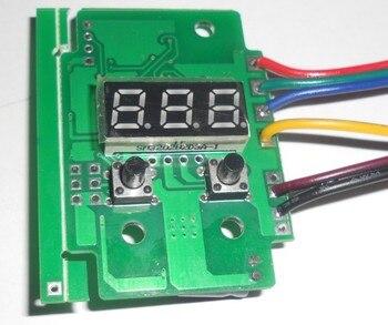 """מיעון 3 ערוץ DMX מפענח & driver מתח קבוע, גודל: L36 * W53 * H17 מ""""מ; DC9 24V קלט, פלט 2A * 3 channl-בבקרי RGB מתוך פנסים ותאורה באתר"""