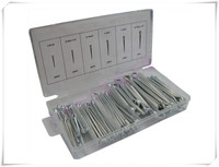 144 Pieces U Type Opening Hitch Pins Set