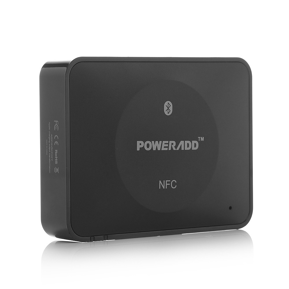 Poweradd A2DP 3 5mm 3 0 Bluetooth Receiver Car Home Music AUX font b Audio b