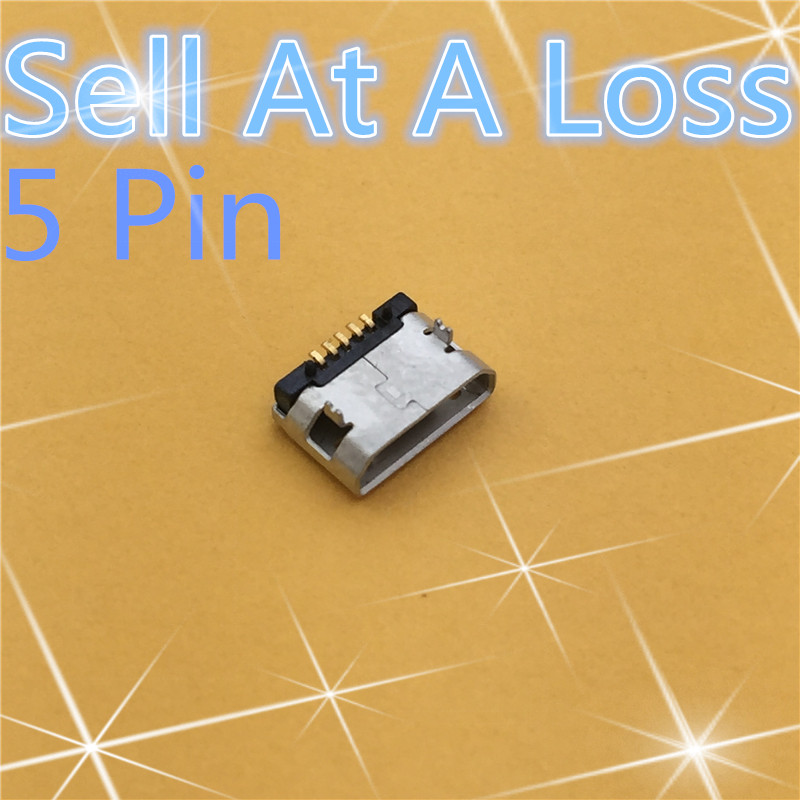 10pcs G19 Micro USB 5pin Female Connector For Mobile Phone Micro USB Charging Socket Straight Mouth High Quality Sell At A Loss 20pcs micro usb 5pin no side ox horn female usb socket flat mouth four legs socket mini usb connector free shipping