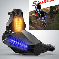 Motorcycle Windproof handguards Glowing Accessories For yamaha dt honda africa twin crf1000l suzuki intruder yamaha dt 125