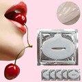 2017 Hot !!! 5PCS Pump Lip Plumper Crystal Collagen Lip Mask Pads Powerful Moisturizing Essence Wrinkle Lips Enhancer