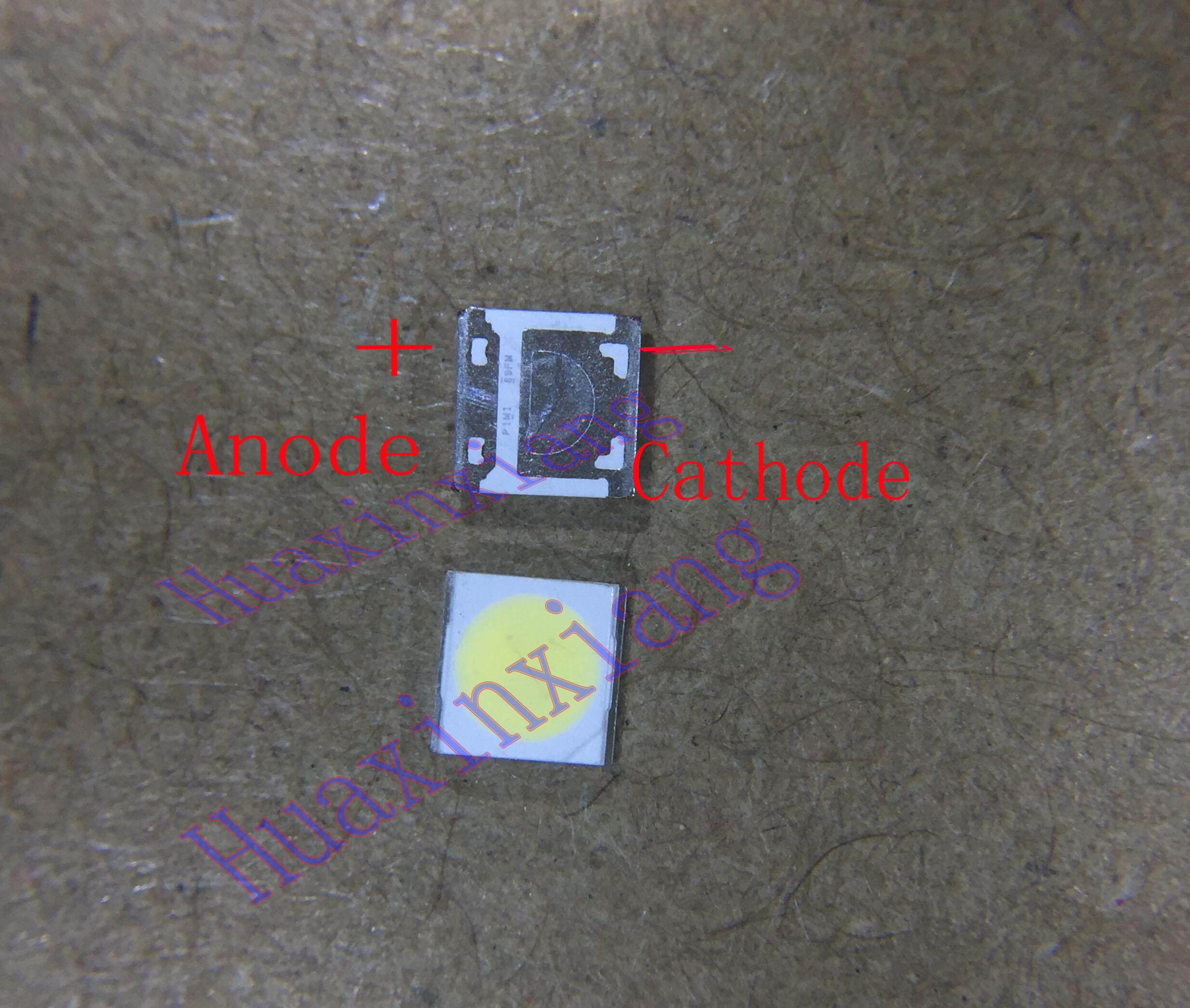 100PCS/Lot SMD LED 3535 6V 2W Cold White WM35E2F-YR09B-eA For Wooree LCD/TV Backlight Application