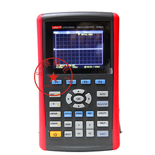 Cheapest prices UNI-T UTD1050DL 3.5″LCD 50MHz Handheld Digital Display Oscilloscope with Voltage,Current,Resistance,Capacitance Measurement