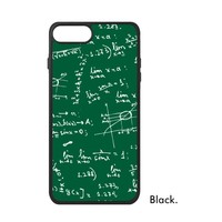 Physics Math Student Formula Calculation Study School Subject Number Phone Case For IPhone X 7 8