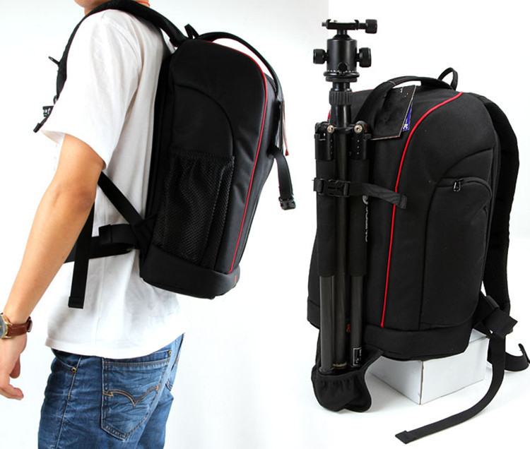 China dictry factory waterproof photograph backpack fashion trave SLR camera  backpack waterproof camera backpack CD50-in Camera Video Bags from Consumer  ...
