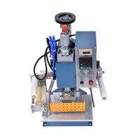 공압 인쇄 기계 130*100mm  프린터 가죽  주름  핫 호일 스탬핑 기계  프레스 마킹