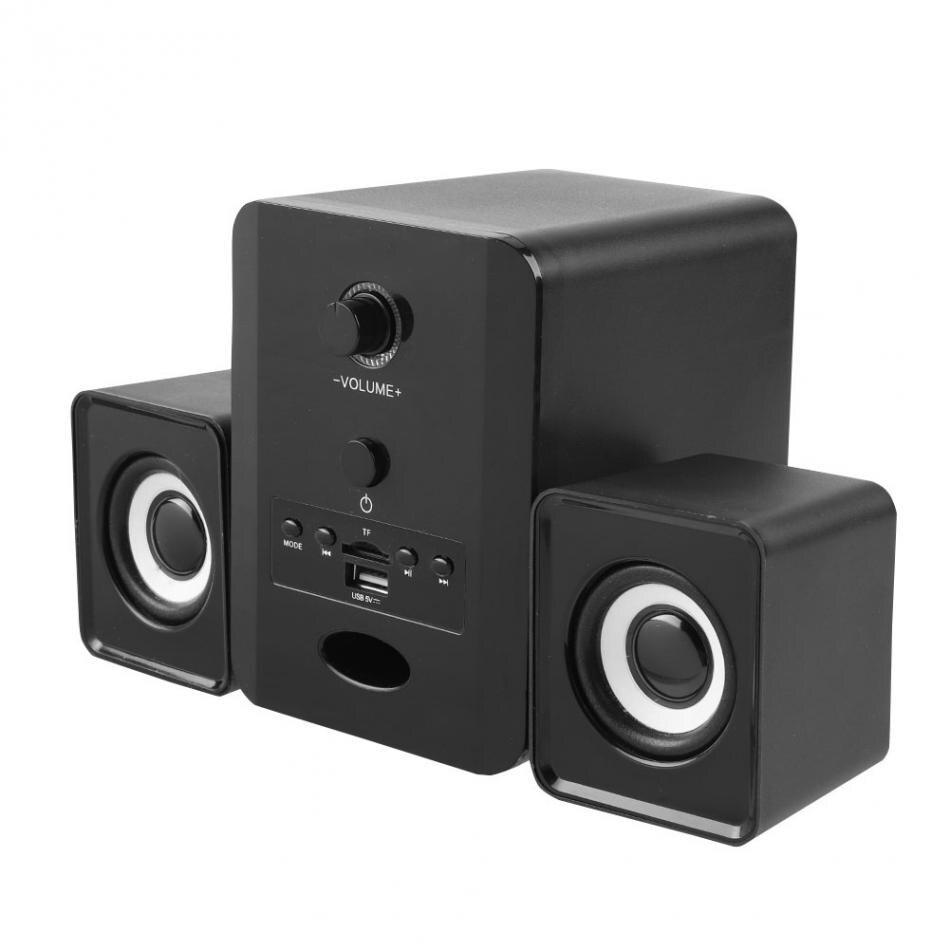 Sada D 230 Wireless Bluetooth 21 Speaker Mini Stereo Column Desktop