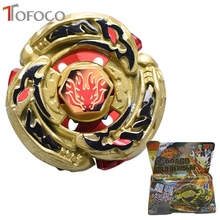 TOFOCO Golden Dragon Toupie Beyblade Burst For Sale Metal Fusion 4D Launcher Spinning Top Hunter Set