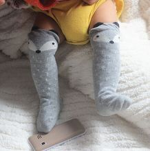 Baby leg warmers Fancy Designer grey