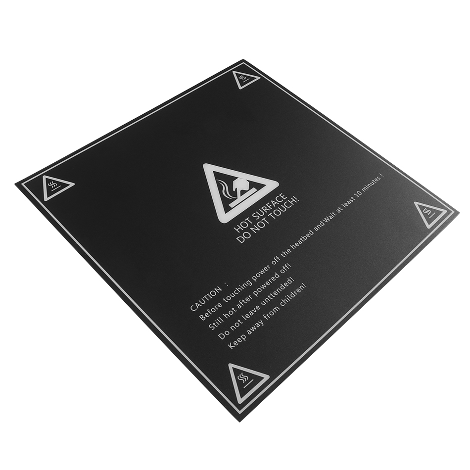 Hot Bed Surface Sticker 300x300mm 220x220mm With 1:1 Coordinate For 3D Printer