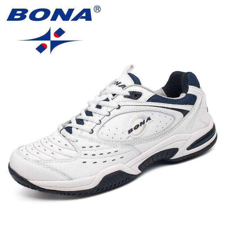 BONA nouveauté Style populaire hommes chaussures de Tennis en plein air Jogging baskets à lacets hommes chaussures de sport confortable livraison gratuite - 3