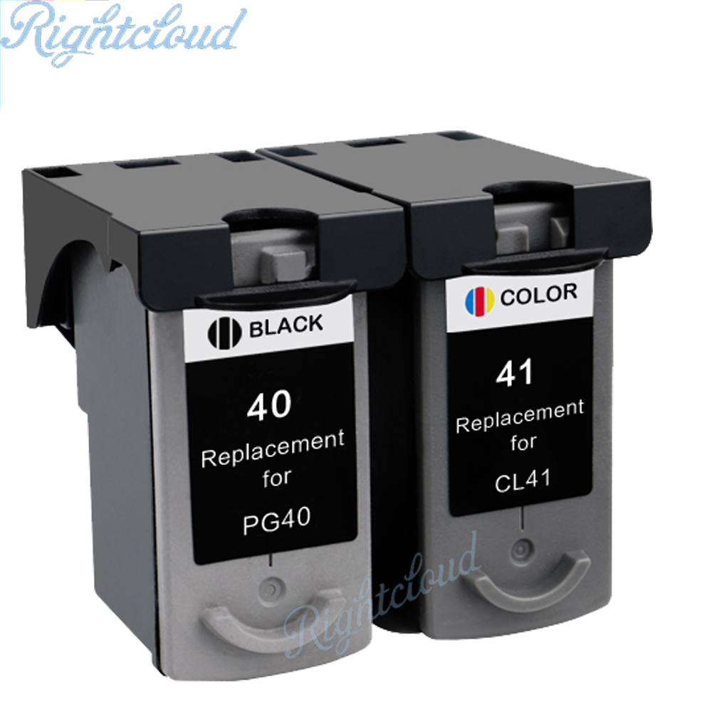 Hisaint Pg40 Cl41 Compatible Ink Cartridge For Canon Pg 40 Cl 41 Colour Original Pixma Ip1600 Ip1200 Ip1900 Mx300 Mx310 Mp160 Mp140 Mp150 In Cartridges From