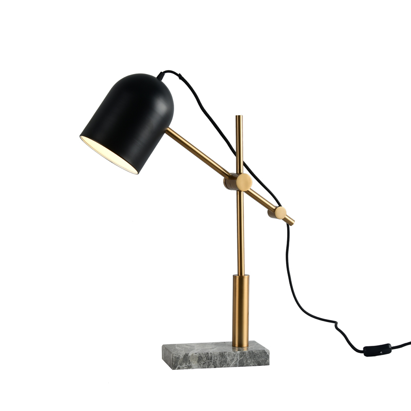 Современные настольные лампы мраморное основание Toolery гладить искусство украшения дома Освещение Роскошные nordic Настольный светильник све