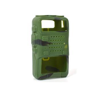 Walkie talkie baofeng radio uv 5r suave caso encuentro de Dos radio baofeng UV5R gt-3 UV-5RE más UV-8HX UV-985 TH-F8