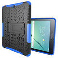 For Samsung Galaxy Tab S2 9.7 SM-T810 T815 Armor Shockproof Heavy Duty Silicone Hard Case Cover Protector Stand Tablet Case