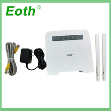 Eoth 4G LTE VOIP Router 300Mbps 4G Router(with innner antenna) with Sim CardSlot 4G LTE WiFi Router with 4 LAN Port