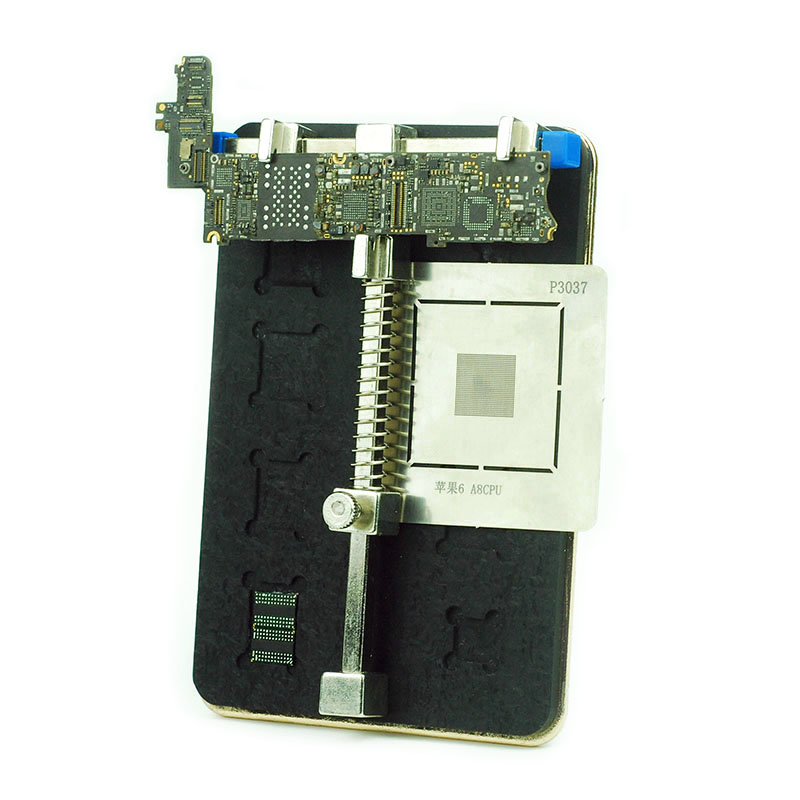 $26.13 | Multifunction for iPhone motherboard Repair clamps IC chip Positioning fixtures BGA remove adhesive planting tin