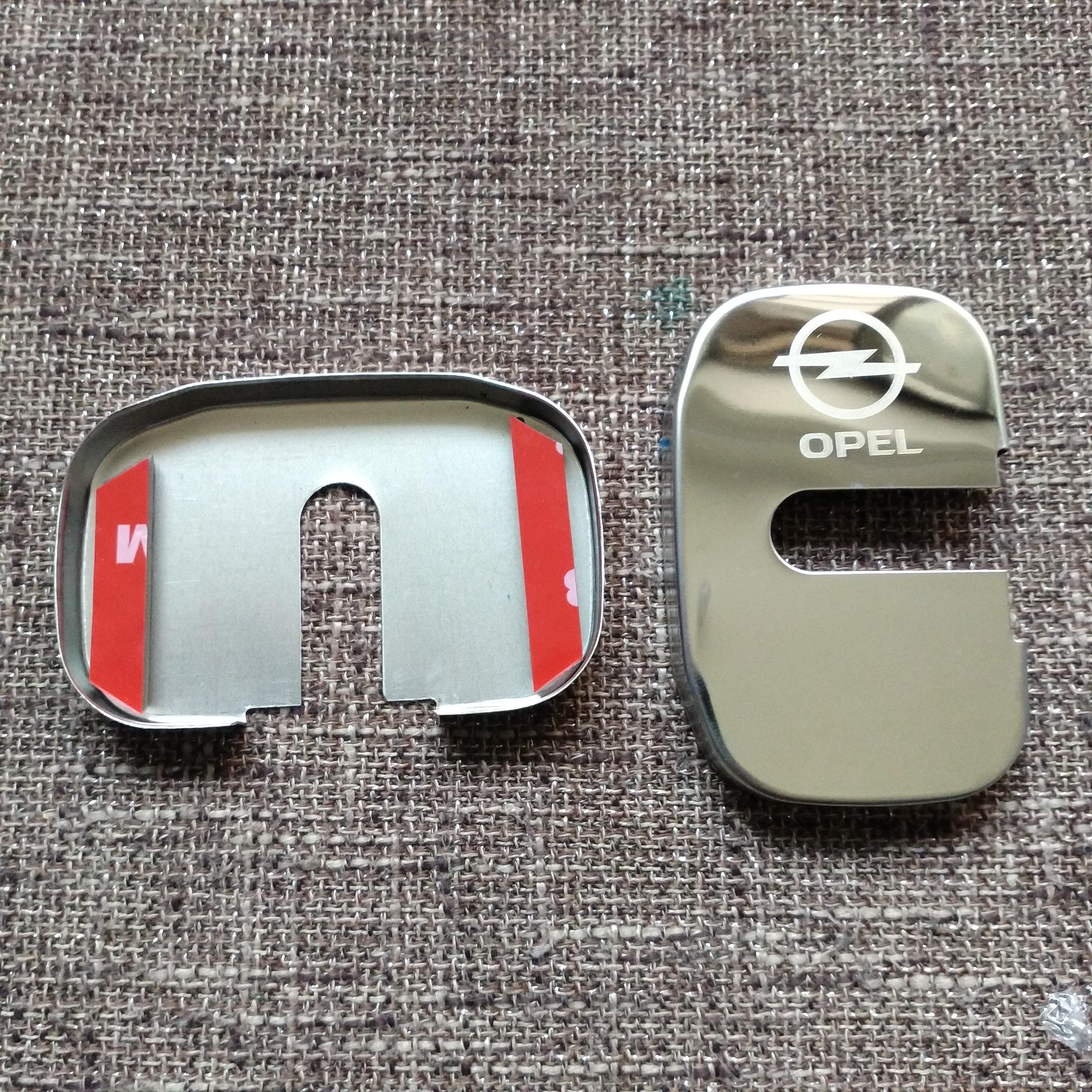 Car Styling Car Covers Door Lock Cover Case For Opel Astra H G J Insignia Mokka Zafira Corsa Vectra C D Antara Car-Styling opel mokka с пробегом
