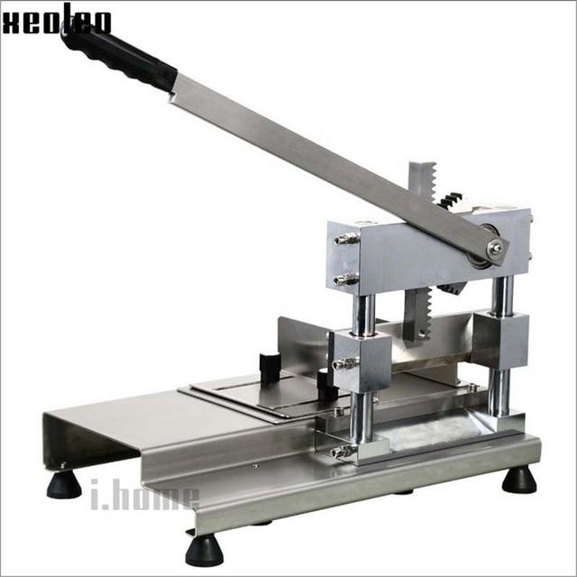 Xeoleo Manual Bone guillotine Machine Meat Cutter special for cut Bone stainless steel Manual Bone Saw machine