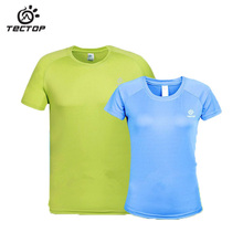 Summer Men Women Quick dry T-shirt outdoor Camping hiking Sports T-shirt Breathable quick-drying couples Running jacket